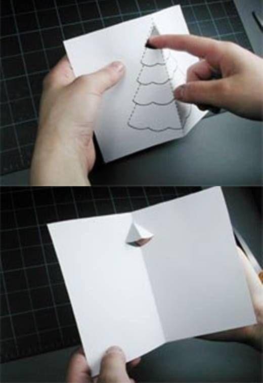 聖誕樹立體卡片5.6